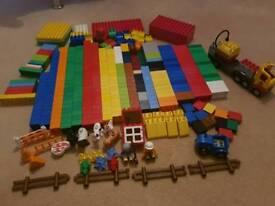 Huge Duplo Lego Set and Building Board