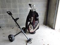 Fila Soft Ferro GX Ladies RH Golf Set With Bag and Trolley