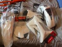 Brand new KTM polisport plastics
