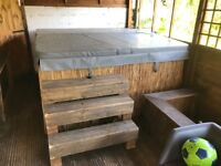 6 seater mains wired hot tub
