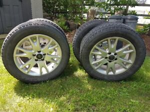 Volvo XC90, Wheels and tires