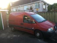 04 Citroen dispatch 118000 miles, full years PSV