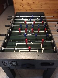 Fussball table and multi game