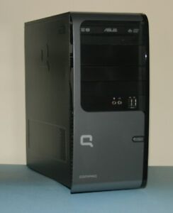HP Compaq Desktop_Intel Dual Core_3GB RAM_320GB HD_Win7 Ultimate
