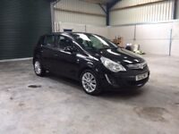 2012 Vauxhall corsa se 1.2cc 1 owner low miles leather guaranteed cheapest in country