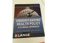 Understanding Health Policy: A Clinical Approach 6th ed