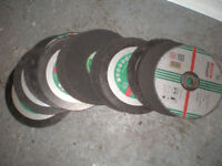 "Brand New Cutting Discs 9"" 21 in total Stone"