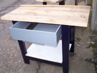 2x HEAVY DUTY WORKSHOP BENCH