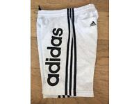 Boys grey adidas shorts age 11-12 like new