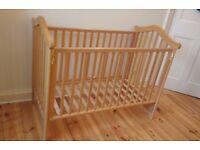 Adjustable cot bed for sale