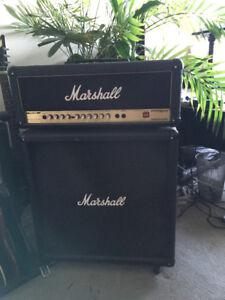 Marshall 4x12 cab and AVT 50 Head