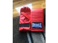 Lonsdale punch bag mitts