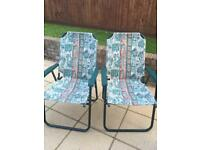 GARDEN CHAIRS/CAMPING CHAIRS