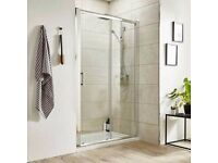 New 1600mm Sliding Shower Door