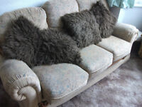 Settee & armchair
