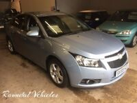 59 plate Chevrolet Cruze 1.6 LS saloon met blue 100k history , mot March 2018 new t/belt LOVELY CAR!