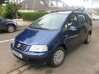 VW Sharan, 2006, 7 seats, good condition and low mileage, MOT to Aug 2018