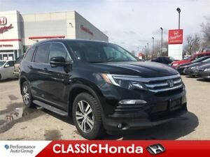 2016 Honda Pilot EX-L | LEATHER | DVD | CLEAN CARPROOF | AWD |