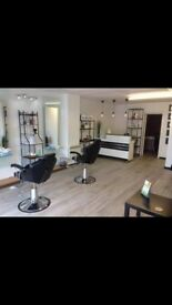 chair space available for hair dresser and nail technician