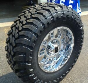 Looking for 35 or 33's on 20s mud tires