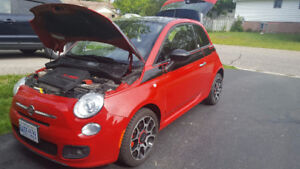 2012 Fiat 500 Sport Hatchback (PRICE DROP)
