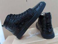 Snake-Skin Red Bottom Sneakers Luxury Designer Hip Hop Sneakers Mens