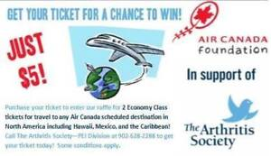 Win a Trip with 2 Economy Class Tickets for Travel!