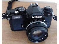 Nikon FM2n 35mm film camera