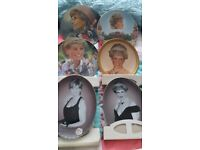 Diana plates( collectables)