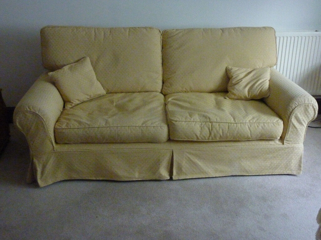 Laura Ashley Large 'Kendal' 3 Seater Sofa With Removable