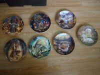 7 X Collectible Plates For Sale