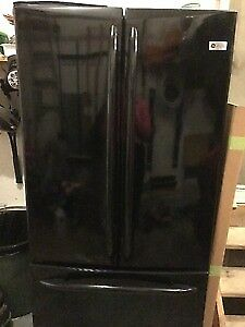 Black GE Profile Fridge