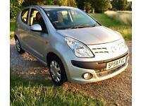 2009 Nissan Pixo 1.0 £20 road tax 11m MOT