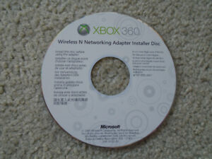 Installation disc for Xbox 360 Wireless Network Adapter..ONLY $1
