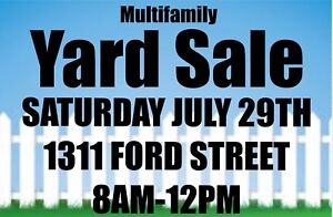 MULTIFAMILY YARD SALE