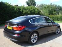 /// BMW 530D GRAN TURISMO GT SE 59 PLATE /// AUTOMATIC DIESEL /// BLACK /// SAT NAV LEATHERS /