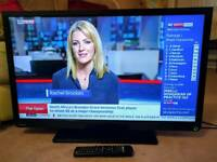"""TOSHIBA 32"""" 32 Inch 1080p HD TV with built-in Freeview - Can deliver locally"""