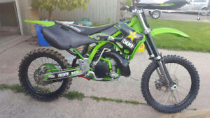 Fully rebuilt kx250.. Break in complete!