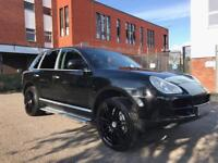 "PORSCHE CAYENNE S IMMACULATE TRUCK FULLY LOADED 22"" PORSCHE ALLOYS SAT NAV PARKING SENSORS!!"