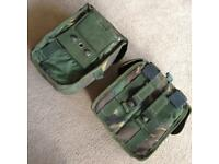 Army ammo pouches