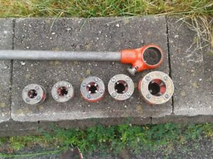 Rigid Manual Ratchet Pipe Threader and Die Heads