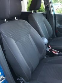 Fiesta seats mk7 titanium front and rear 5 door