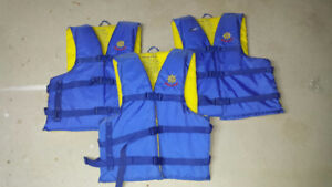 Life Jackets and Oars