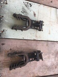 Gun holders for a atv