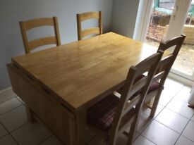 Kitchen or Dining Room Table and 4-6 Chairs