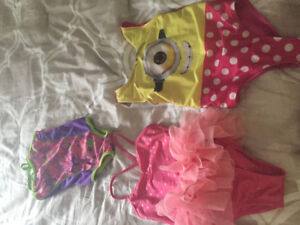 Three size 2t swimsuits