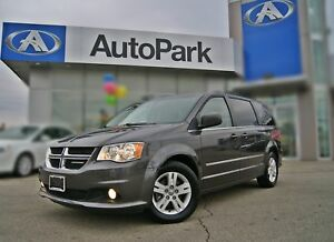 2015 Dodge Grand Caravan Crew DUAL DVD|NAV|SLIDING DOORS|