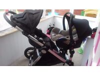 City Select Double Pushchair
