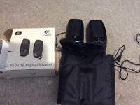 Logitech S-150 USB digital compact speakers