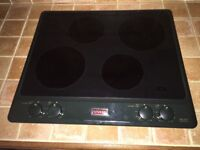 Stoves Heritage Electric Hob Green model: 600 E2H